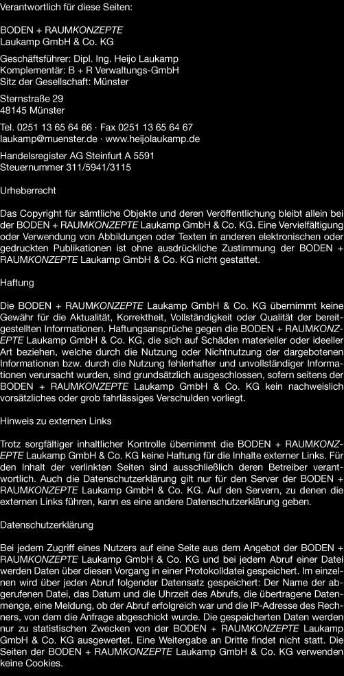 boden und raumkonzepte laukamp gmbh & co kg in 48145 münster sternstr. 29